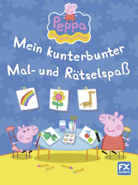 Peppa - Mein kunterbunter Mal- und Rätselspaß - Coverbild