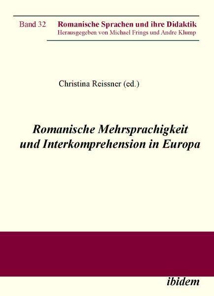 Romanische Mehrsprachigkeit und Interkomprehension in Europa - Coverbild