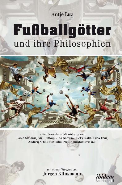 Fußballgötter und ihre Philosophien - Coverbild