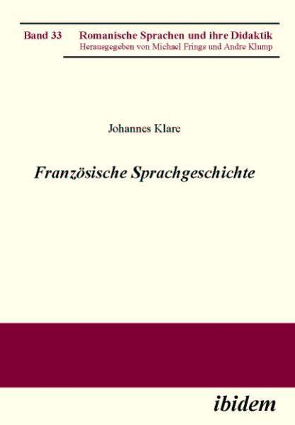 Französische Sprachgeschichte - Coverbild