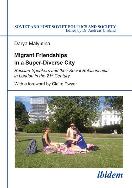 Migrant Friendships in a Super-Diverse City  - Coverbild