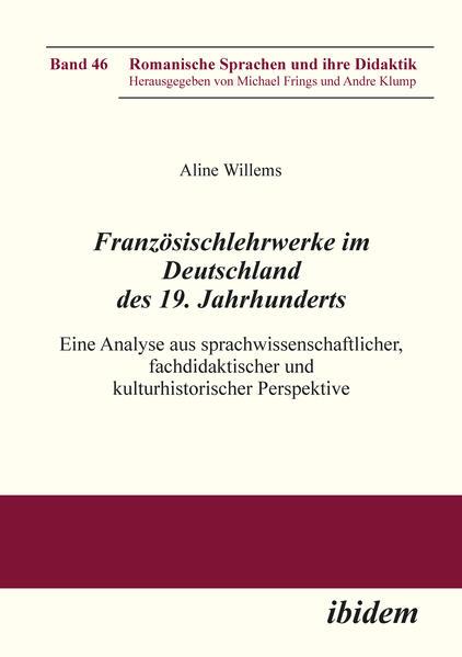 Französischlehrwerke im Deutschland des 19. Jahrhunderts - Coverbild