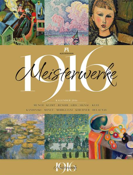 Meisterwerke 1916 2016 - Coverbild