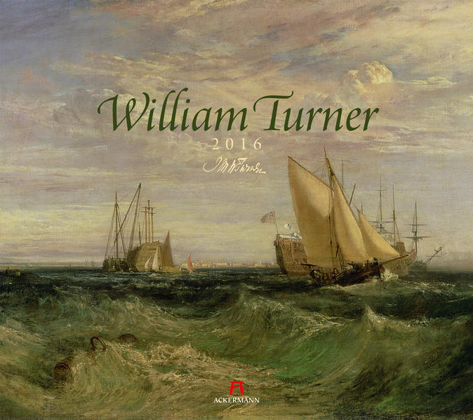 William Turner 2016 - Coverbild