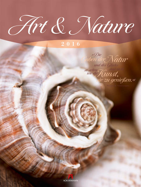 Art & Nature 2016 - Coverbild