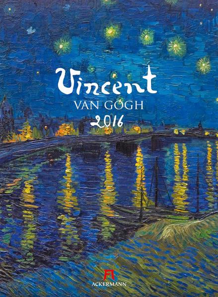 Vincent van Gogh 2016 - Coverbild