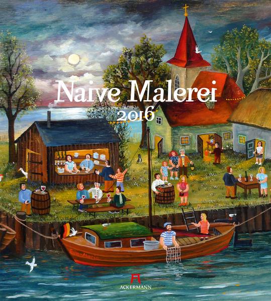 Naive Malerei 2016 - Coverbild