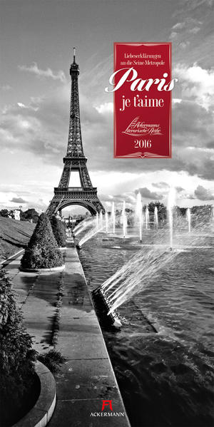 Paris, je t'aime 2016 - Coverbild