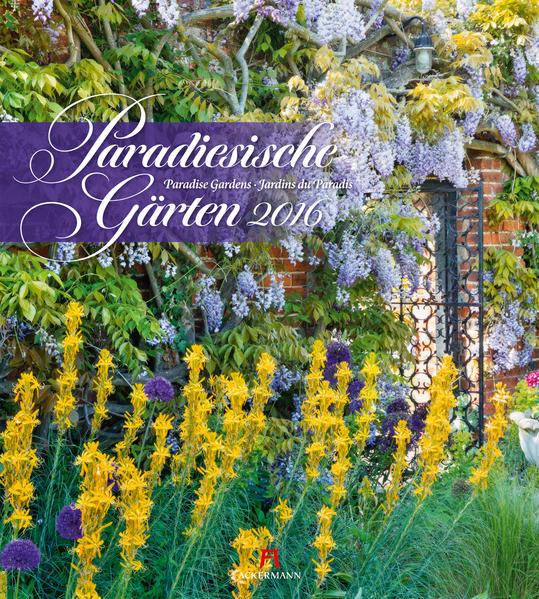 Paradiesische Gärten 2016 - Coverbild