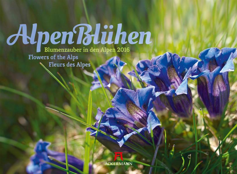 Alpenblühen 2016 - Coverbild