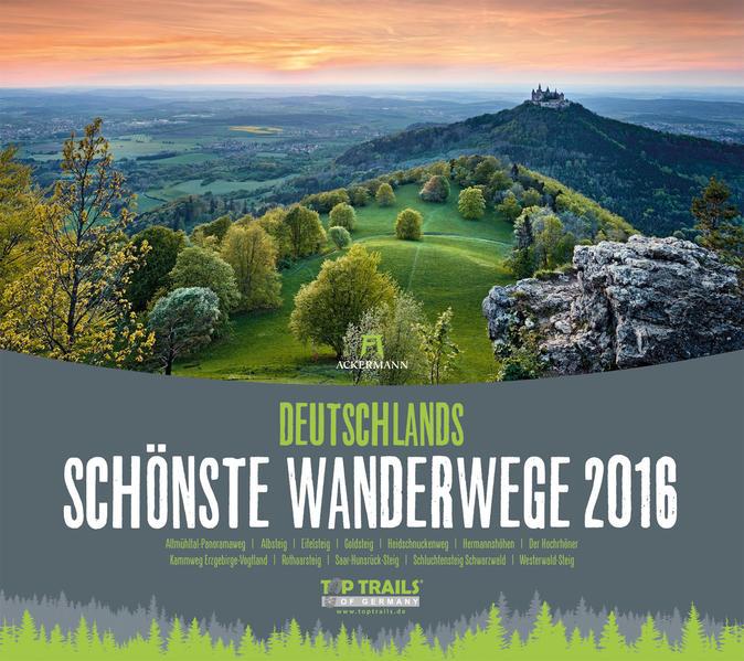 Deutschlands schönste Wanderwege 2016 - Coverbild