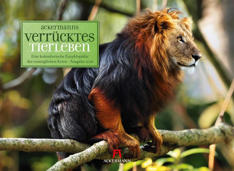 Verrücktes Tierleben 2016 - Coverbild