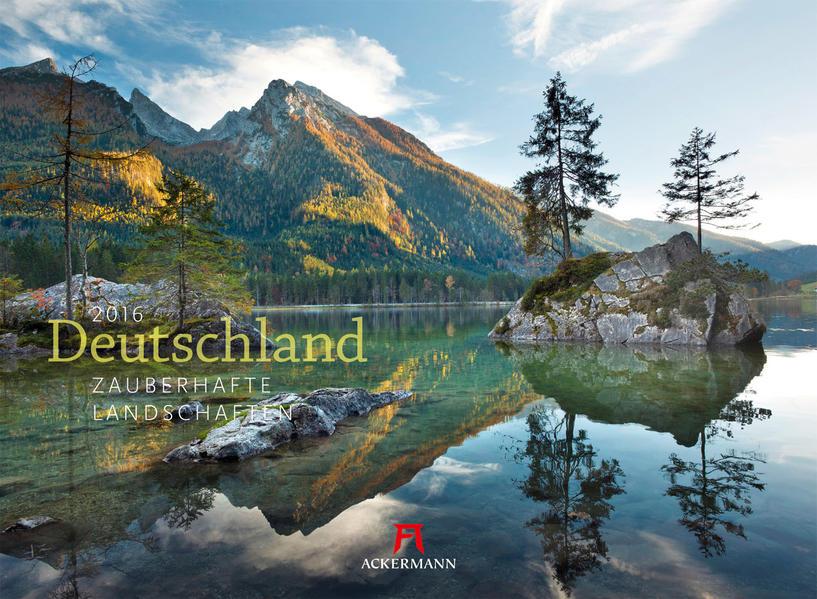 Deutschland - Zauberh. Landschaften 2016 - Coverbild