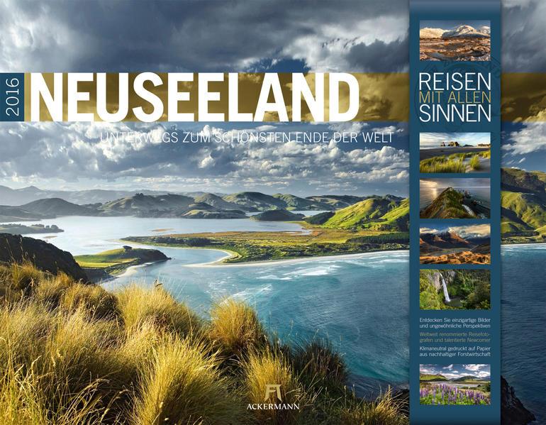 Neuseeland 2016 - Coverbild