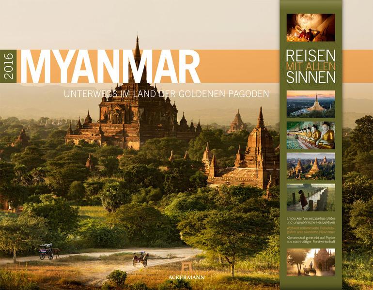 Myanmar 2016 - Coverbild