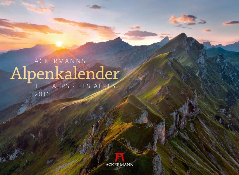 Ackermanns Alpenkalender 2016 - Coverbild