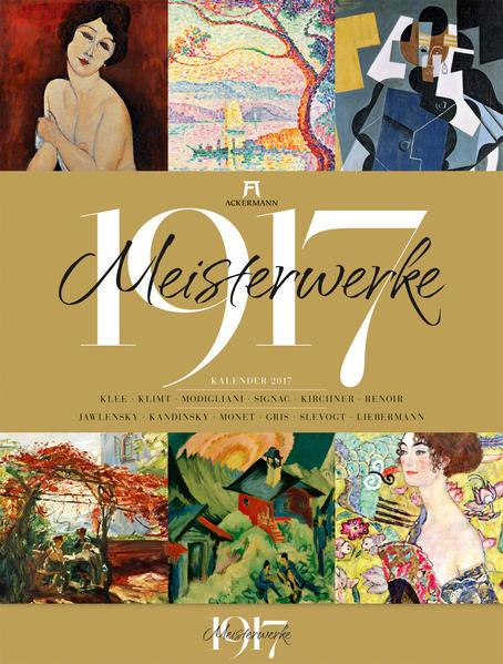 Meisterwerke 1917 2017 - Coverbild