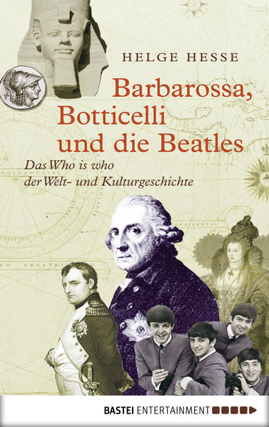 Barbarossa, Botticelli und die Beatles - Coverbild