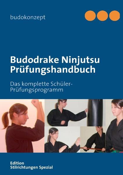 Budodrake Ninjutsu Prüfungshandbuch - Coverbild