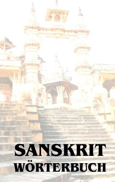 Sanskrit Wörterbuch - Coverbild