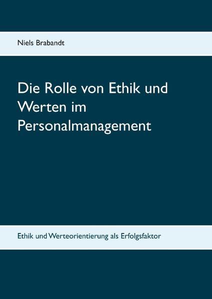 Die Rolle von Ethik und Werten im Personalmanagement - Coverbild