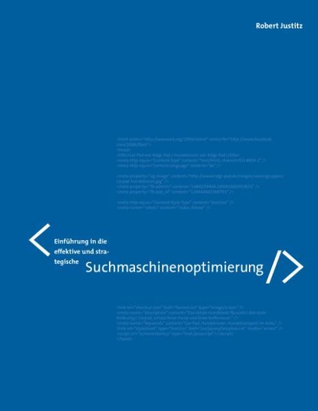 Einführung in die effektive und strategische Suchmaschinenoptimierung - Coverbild