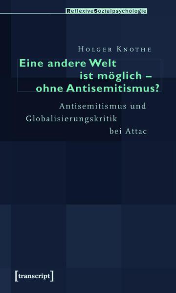 Eine andere Welt ist möglich - ohne Antisemitismus? - Coverbild