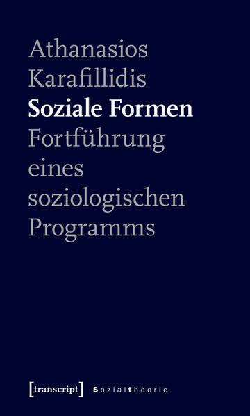 Soziale Formen - Coverbild