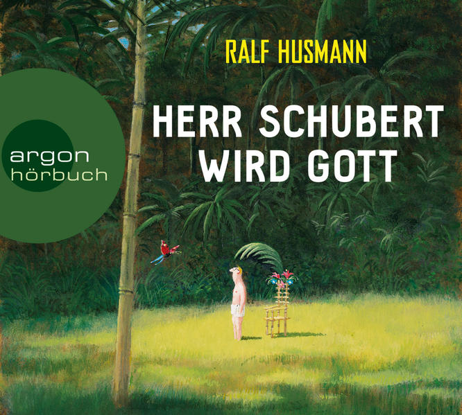 Herr Schubert wird Gott - Coverbild