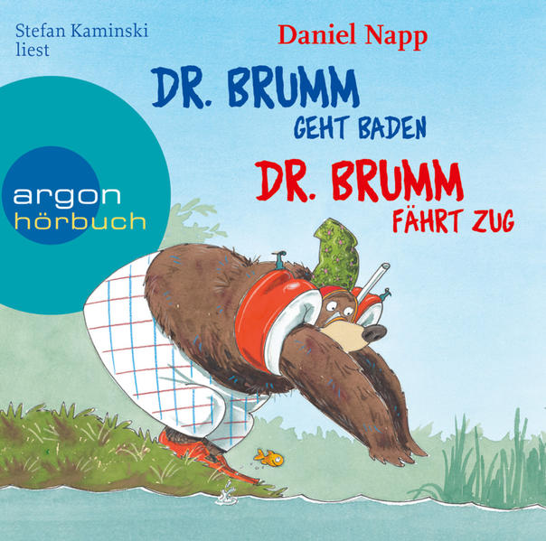 Dr. Brumm geht baden / Dr. Brumm fährt Zug - Coverbild
