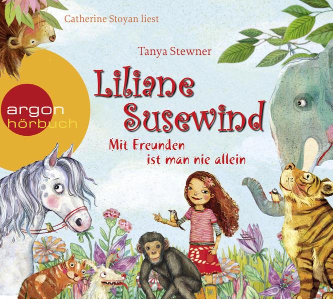 Liliane Susewind – Mit Freunden ist man nie allein - Coverbild