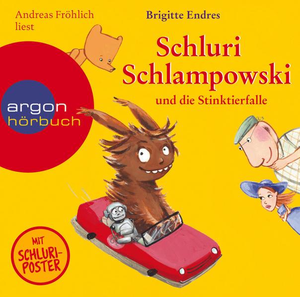 Schluri Schlampowski und die Stinktierfalle - Coverbild