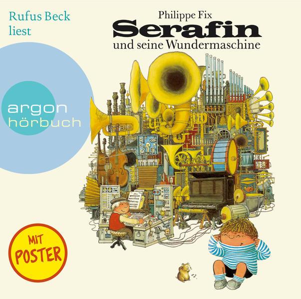 Serafin und seine Wundermaschine - Coverbild