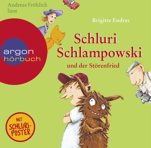 Schluri Schlampowski und der Störenfried - Coverbild