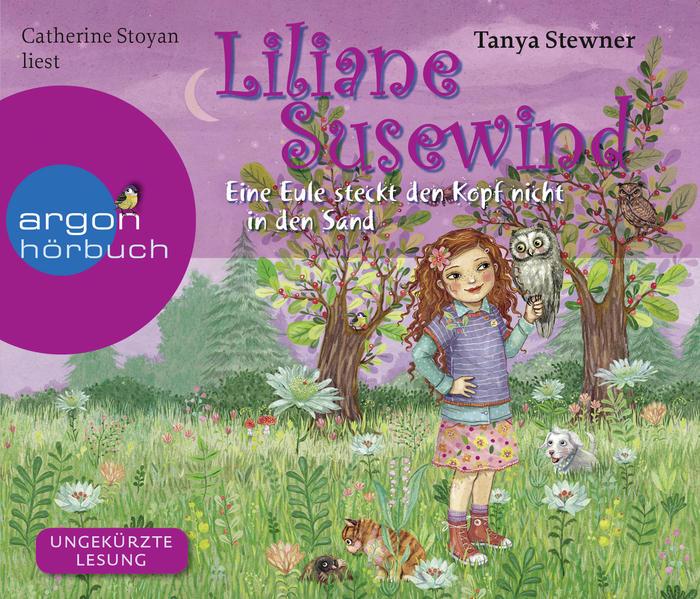 Liliane Susewind – Eine Eule steckt den Kopf nicht in den Sand - Coverbild