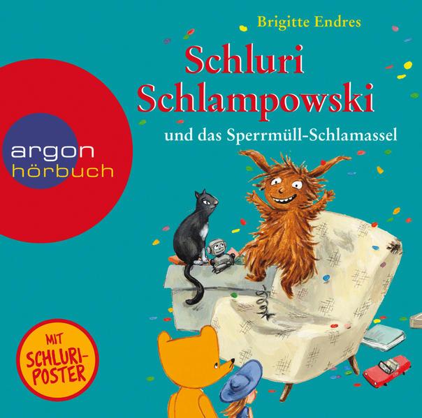 Schluri Schlampowski und das Sperrmüll-Schlamassel - Coverbild