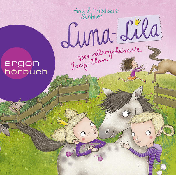 Luna-Lila - Der allergeheimste Pony-Plan - Coverbild