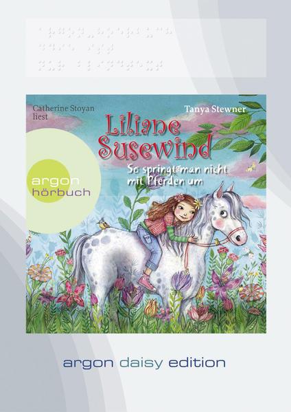 Liliane Susewind – So springt man nicht mit Pferden um (DAISY Edition) - Coverbild