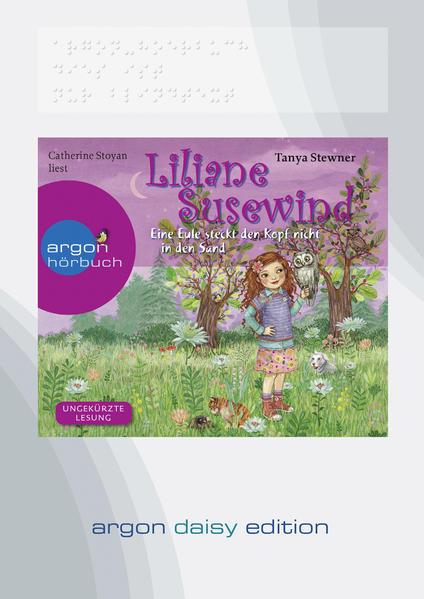 Liliane Susewind – Eine Eule steckt den Kopf nicht in den Sand (DAISY Edition) - Coverbild