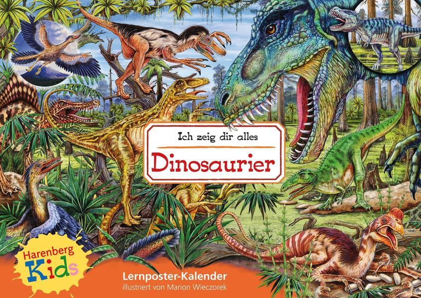 Kids Ich zeig dir alles - Dinosaurier Kinderkalender - Coverbild