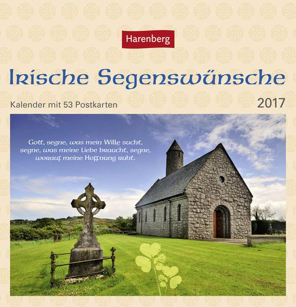 Irische Segenswünsche - Kalender 2017 - Coverbild