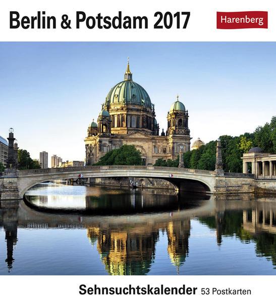 Berlin & Potsdam - Kalender 2017 - Coverbild