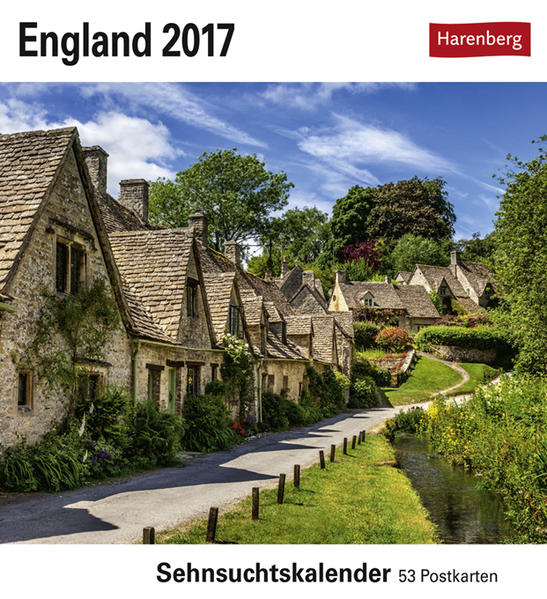 England - Kalender 2017 - Coverbild