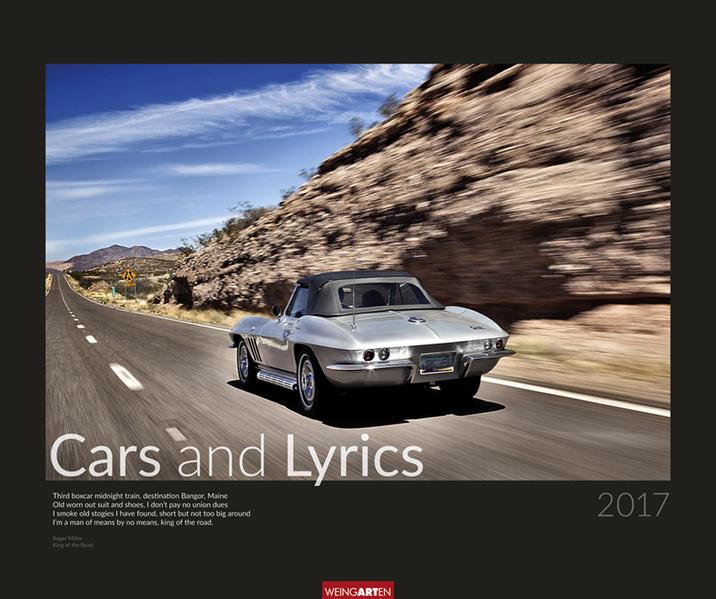 Cars and Lyrics - Kalender 2017 PDF Herunterladen