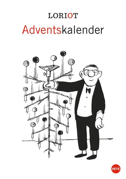Loriot Adventskalender 2015 - Coverbild
