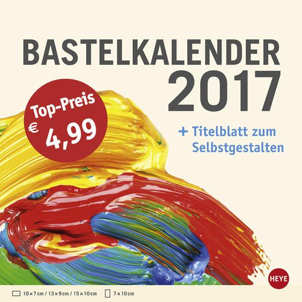 Bastelkalender klein champagner - Kalender 2017 Epub Kostenloser Download