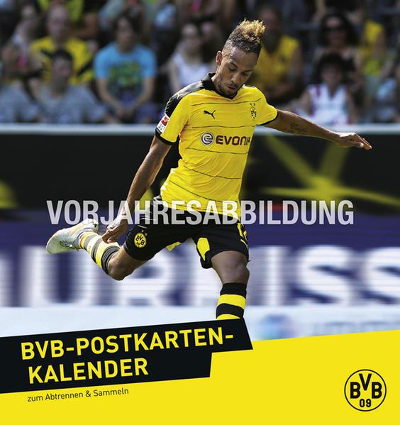 Borussia Dortmund Postkartenkalender - Kalender 2017 - Coverbild
