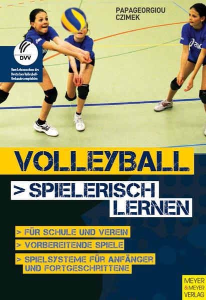 Volleyball spielerisch lernen - Coverbild