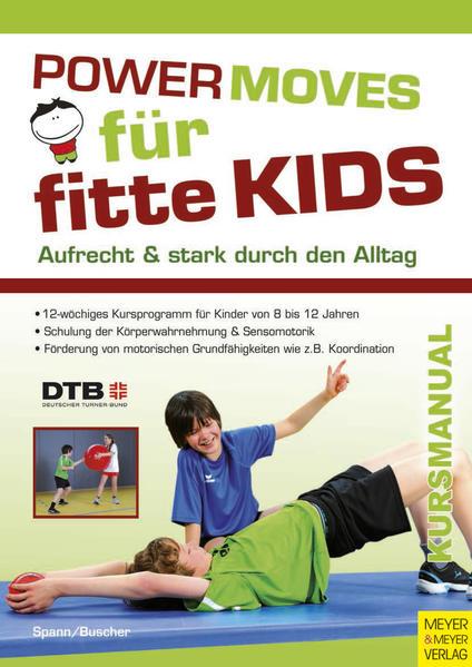 Powermoves für fitte Kids - Coverbild