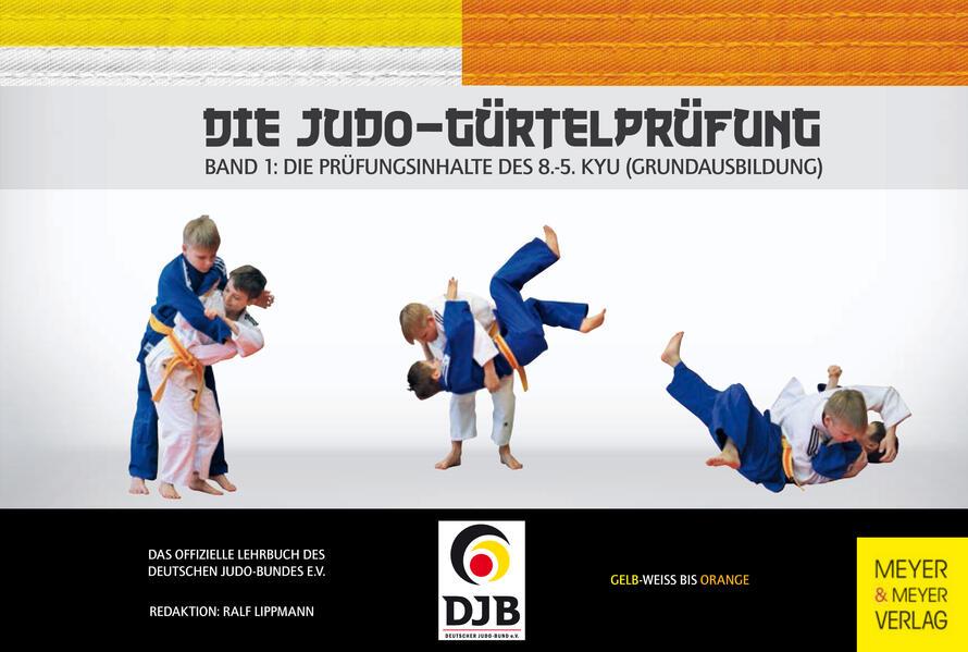 Die Judo-Gürtelprüfung - Coverbild
